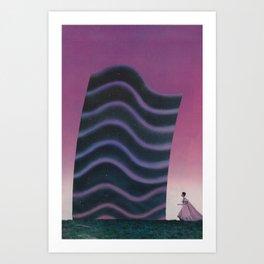 Miss Modular Art Print