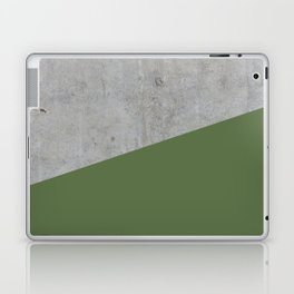 Concrete and Kale Color Laptop & iPad Skin
