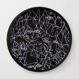 Tracing Faces  Wall Clock