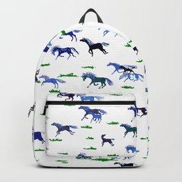 Blue Stampede Backpack