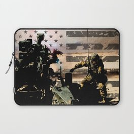 Artillery Gunner Laptop Sleeve