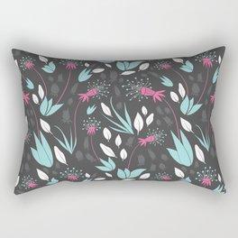 Nighttime Dandelions Rectangular Pillow
