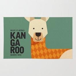 Hello Kangaroo Rug