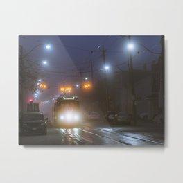 Winter Fog #2 Metal Print