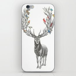 Winter Solstice Caribou iPhone Skin