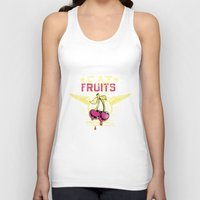 fruits Tank Tops featuring Fruits by Tshirt-Factory