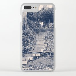 Stairs to Nowhere II Clear iPhone Case