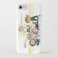 cyrilliart iPhone & iPod Cases featuring Flower Fight by Cyrilliart