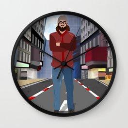 Urban Guy Wall Clock