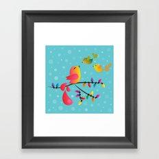 Welcome Home, My Babies! Framed Art Print