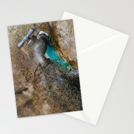 rusted drip Stationery Cards