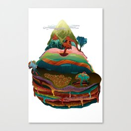 The Mountain Canvas Print