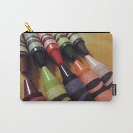 Crayon Closeup Carry-All Pouch