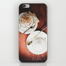 latte and hot chocolate iPhone & iPod Skin