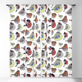 Cute little birds Blackout Curtain