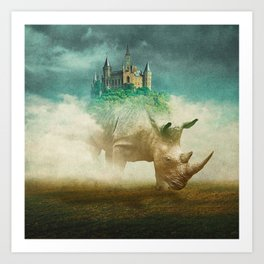 Out Of The Fog Art Print