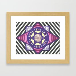 Pent UP Framed Art Print