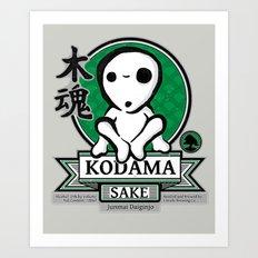 Kodama Sake Art Print