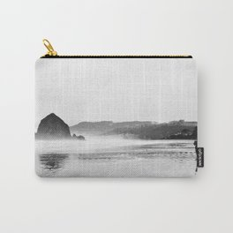Haystack Rock B&W Carry-All Pouch