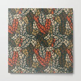 Nature leaves 004 Metal Print