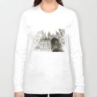 takmaj Long Sleeve T-shirts featuring Rouen facade by takmaj