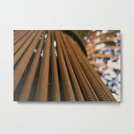Rebar Tree Metal Print