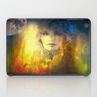 "sandra dieckmann iPad Cases featuring "" Sandra ""  by shiva camille"