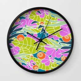 Lush Vegetation #society6 #buyart #decor Wall Clock