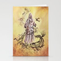 religious Stationery Cards featuring Jesus Christ and Religious Symbols by Sonya ann