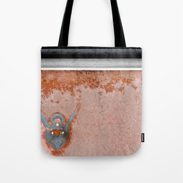 Antique Rusted Car Called Commander Tote Bag