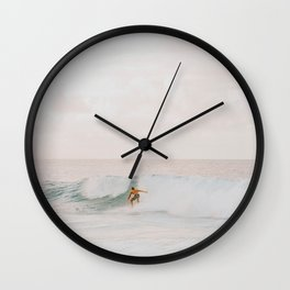 lets surf l Wall Clock
