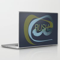 rush Laptop & iPad Skins featuring Rush  by Sammy Cee