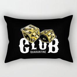 Club Quarantine Rectangular Pillow