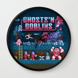 Goblins n' Ghosts Wall Clock