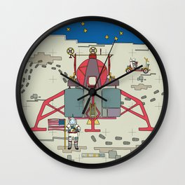 Moon Lem 1969 Wall Clock