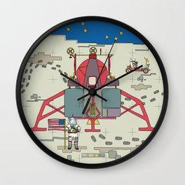 Moon Lem 1969 Wall Clock