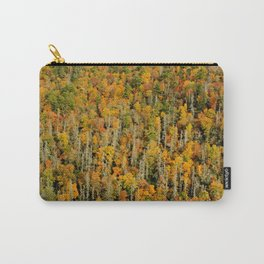 Autumn Leaves and Hemlock * Linville Carry-All Pouch