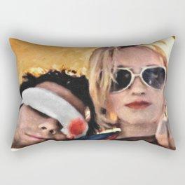 Clarence And Alabama Rectangular Pillow