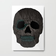 Skull No.2 Metal Print