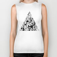 chaos Biker Tanks featuring Chaos by ZantosDesign