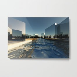 Q-City Two Metal Print
