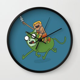 Finn the He-Man Wall Clock