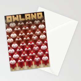 Owland Stationery Cards
