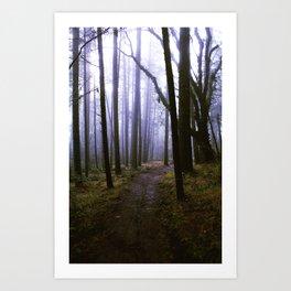 Hike 2 Art Print