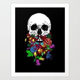 Beardtanical Art Print