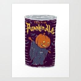 Pumpkin Ale Art Print