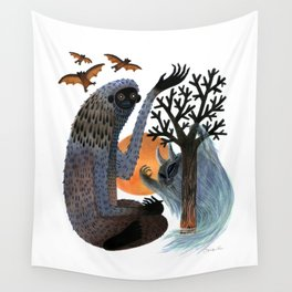 Big Foot's Demons Wall Tapestry