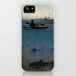 Sea Kayaking iPhone Case