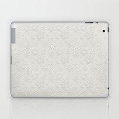Dancing Snowflakes Pattern Laptop & iPad Skin