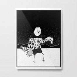 Ookpik Metal Print